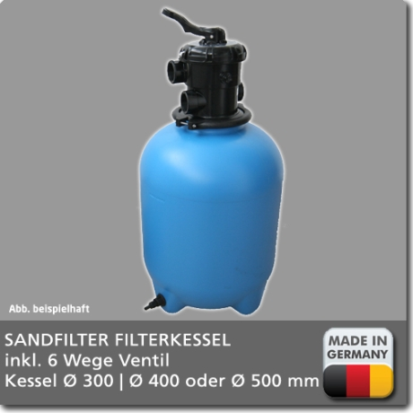 Sandfilteranlage Magic Top Ersatzkessel Poolfilter Behälter