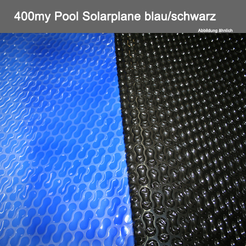 pool solarplane 400my blau schwarz geobubble fertigung g nstige preise f r schwimmbecken. Black Bedroom Furniture Sets. Home Design Ideas