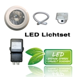 LED Pool Lichtset 5 | 18 Watt Seamaid RGB Multicolor